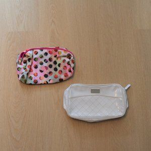 Set of 2 Makeup/Cosmetic Bags Pouches